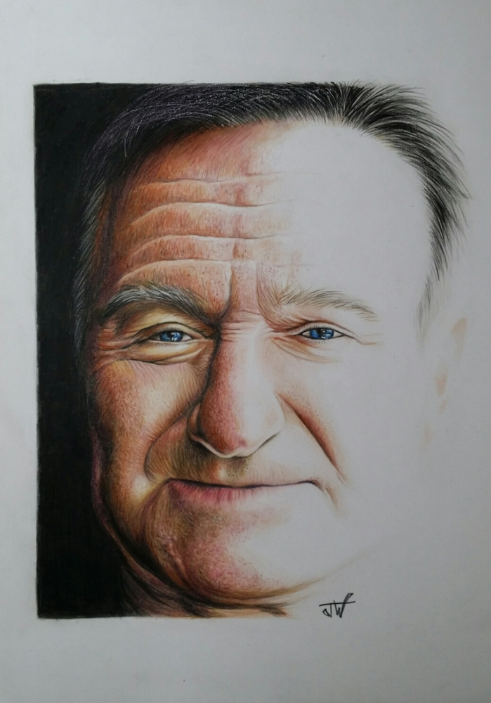 Robin Williams by jeffcw